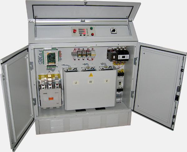 Airfield frequency converter 400 Hz 180 kVA