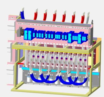 3D Модель силового блока