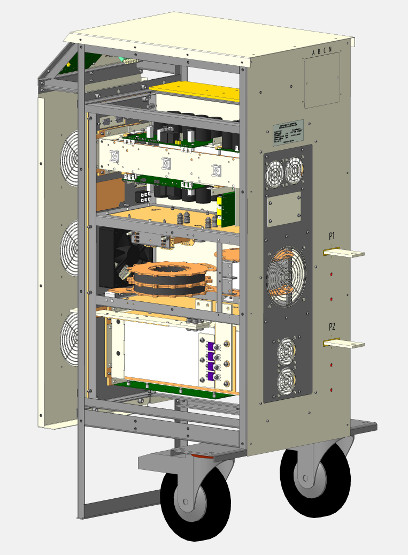 Mobile DC power supply (CAD model)