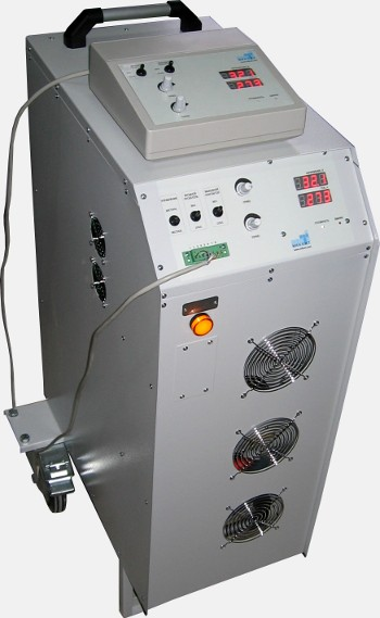 Mobile high power DC source
