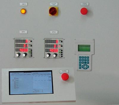 Панель управления испытаным стендом