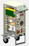 Мобильный источник питания постоянного тока для испытания авиационного оборудования