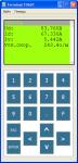 Program emulator of the terminal T0601